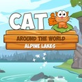 Katze Rund um die Welt